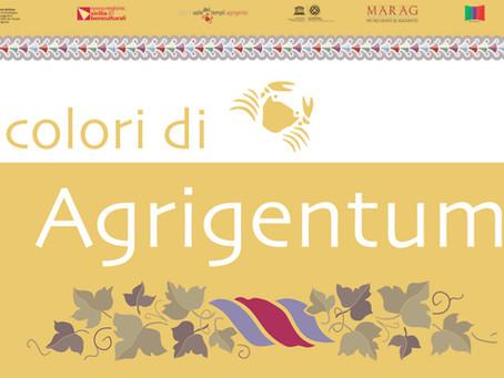 """Parco della Valle dei Templi di Agrigento - """"I colori di Agrigentum"""" - 1 Dic. 2019 - 8 Mar. 2020"""