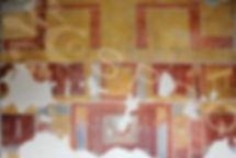 pittura ostiense - giove e ganimede