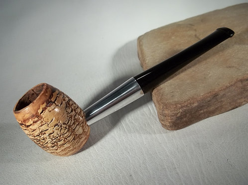 "RESTORED VINTAGE METAL ALUMINUM ""WALLY FRANK"" CORN COB ESTATE PIPE BRIAR"