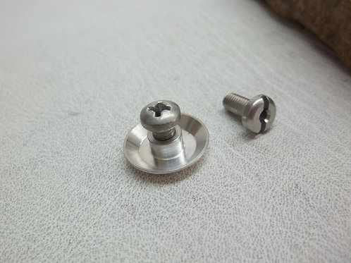 Bowl adapter + 2 Bowl screws fits Kirsten bowls and Kirsten style pipe bowls