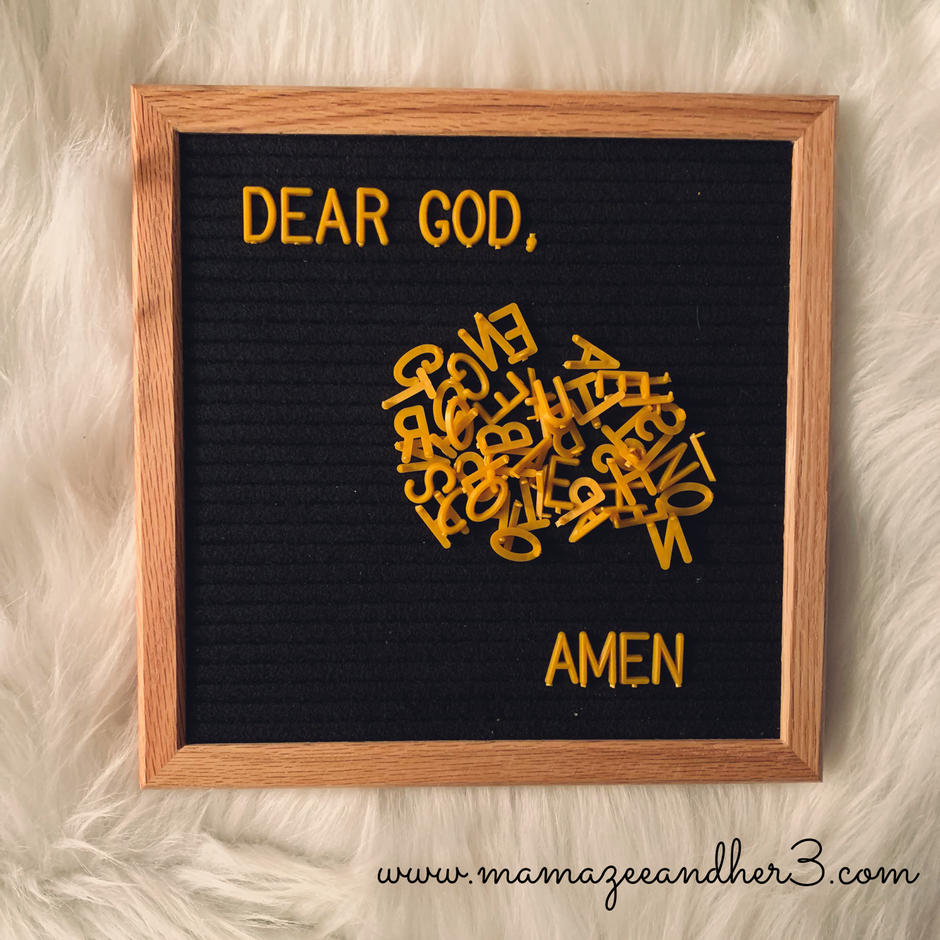 To the Mom Who Doesn't Know What to say to God