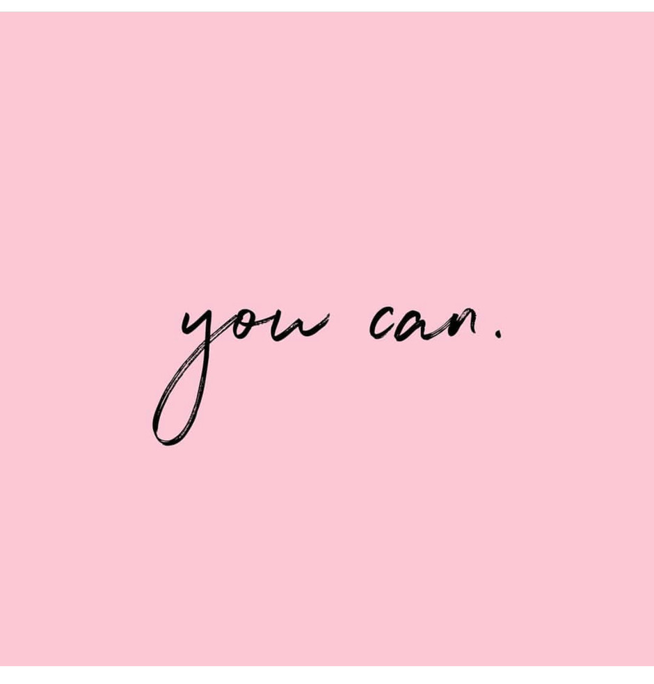 No matter the situation or the obstacle..YOU CAN💕 #HappyMonday