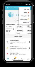 Bewohner, Mieter und Eigentümerportal App