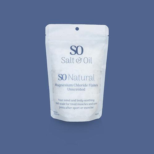Magnesium Chloride flakes bath soak Salt & Oil NZ sore muscles stress relief relaxing bath