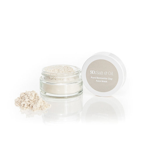 pure bentonite clay detox face mask for problem skin and all skin types natural and organic gift for her