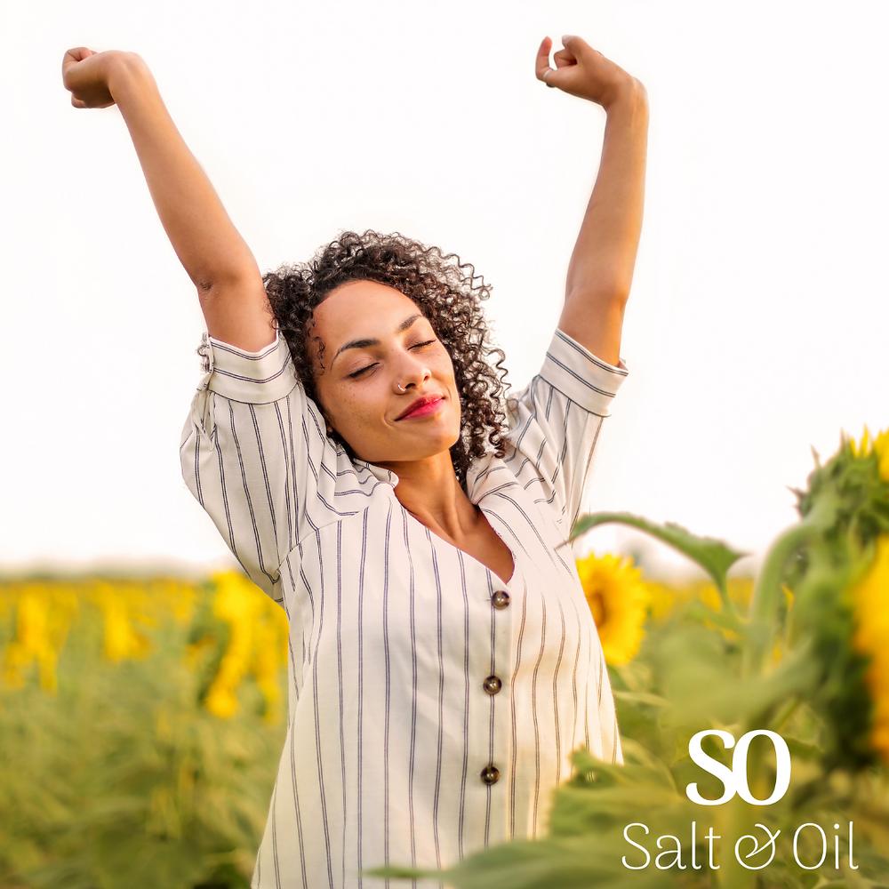 use Salt & Oil magnesium oil spray as an effective natural deodorant