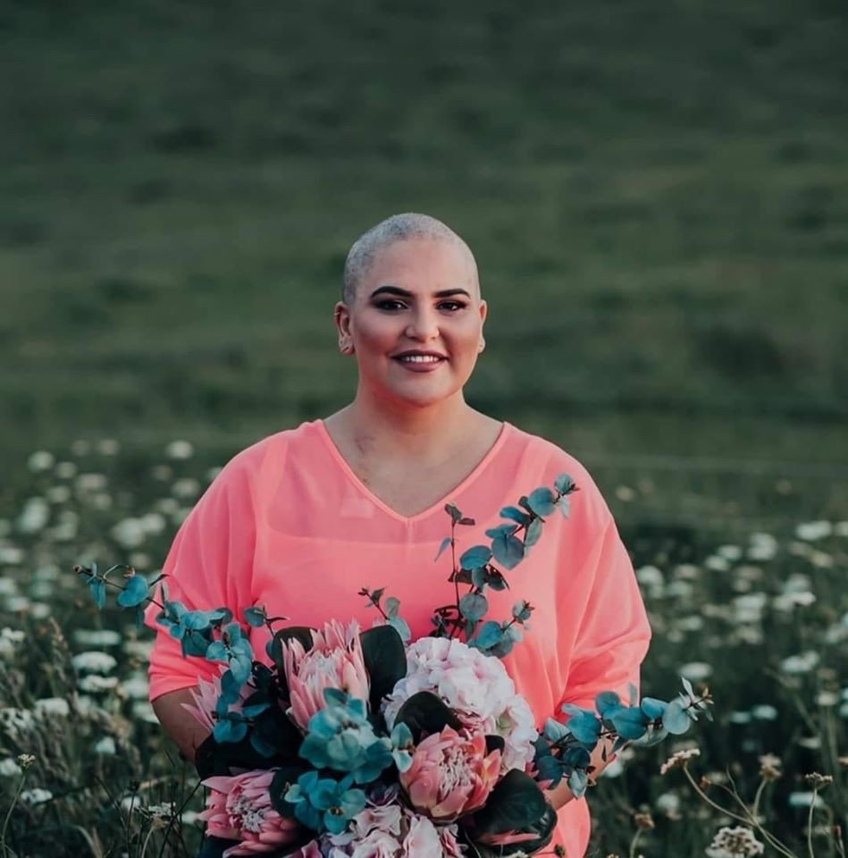 This is Hollie. We are raising fund for her breast cancer treatment. Every bath soak you buy this month using the code Hollie means another $4 raised.