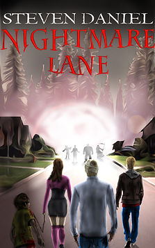 Nightmare Lane by Steven Daniel (Author and Cover Design)