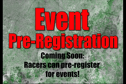 Event Pre-Registration