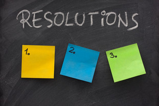 Resolutions and goals!