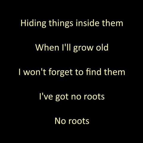"""Aprenda a cantar """"No roots""""!"""