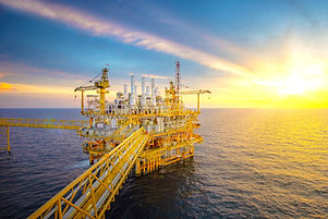 Offshore oil and gas platforms are in th