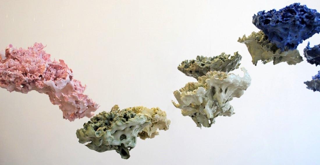 Jemma Millen Ceramics Brain Wave Porcela