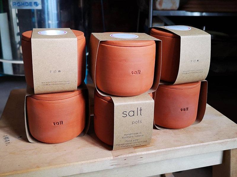 Salt Pot Packaging Jemma Millen Ceramics