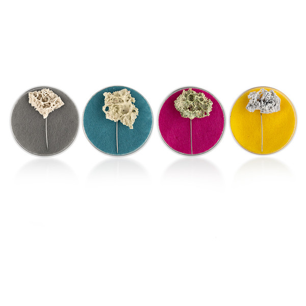 Proteopathic Seed Brooches Jemma Millen