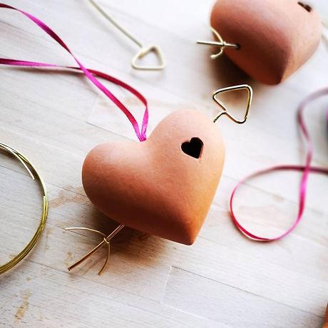 Jemma Millen Ceramics Terracotta Heart B