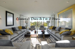Cleaner & Dries In 1 to 2 Hours