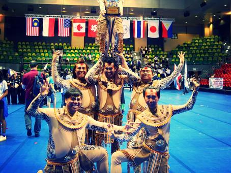 ตัวแทนประเทศไทยได้รับรางวัลชนะเลิศจากการแข่งขันระดับเอเชีย