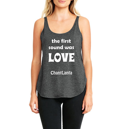 The First Word Was Love (Ladies' Tank)