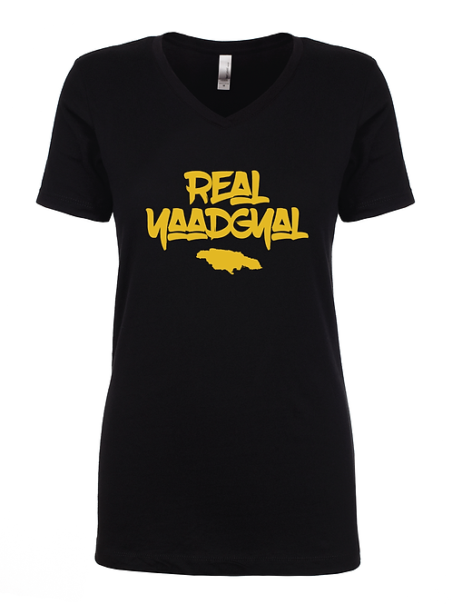Real Yaadgyal Women's V-Neck