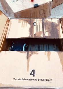 Leak in box