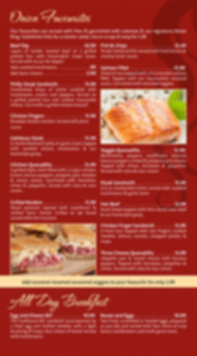 Onion Bar & Grill Flamingo Favourites