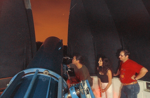 Visitors view Mars