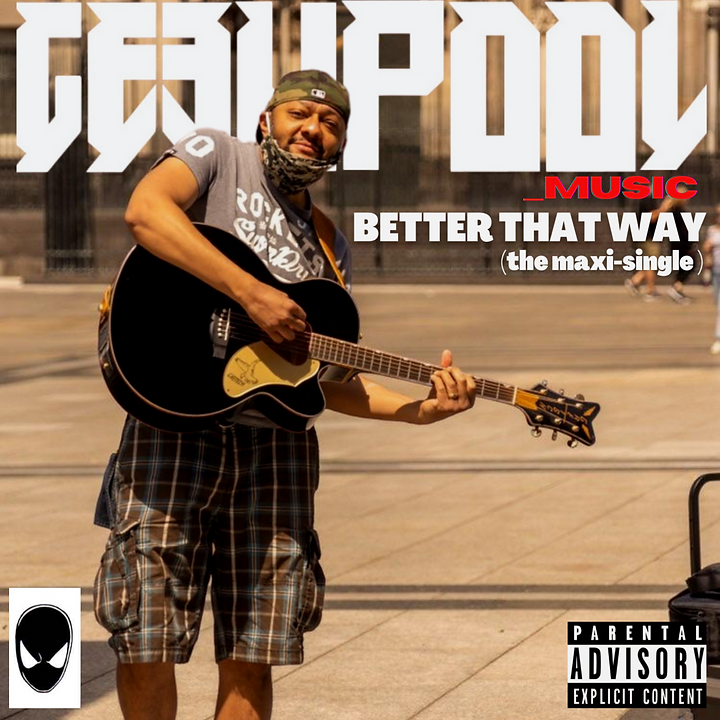 Better That Way Maxi Single Album Cover.