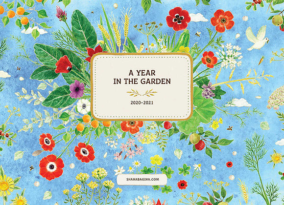 לוח שנה בגינה אנגלית