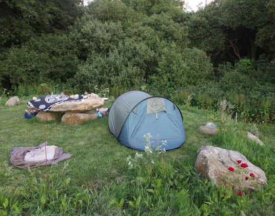 Camping sans voisins