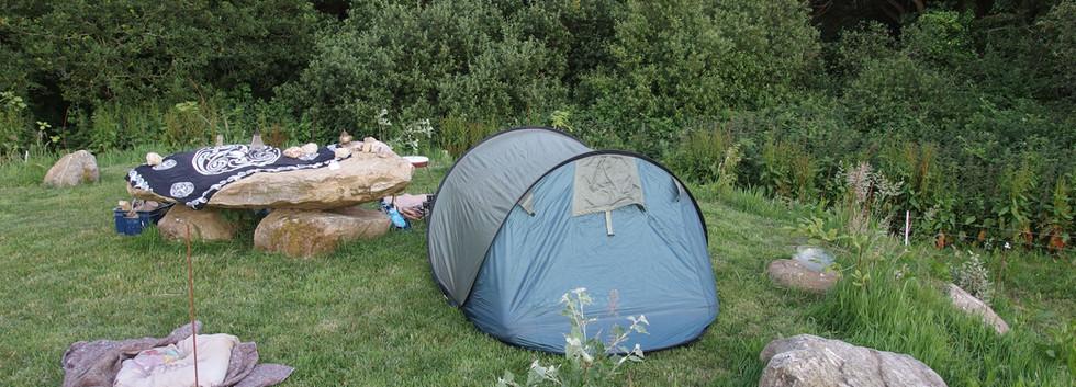 Camping ohne Nachbarn