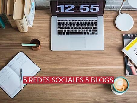 5 redes sociales 5 blogs