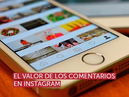 El valor de los comentarios en Instagram