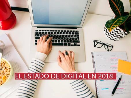 El estado de Digital en 2018