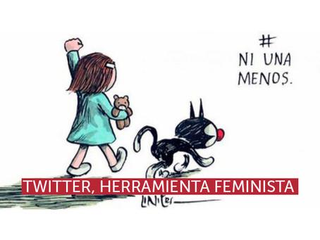 Twitter, herramienta feminista