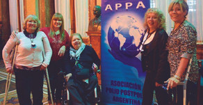 Rosa Liliana Almirón, Presidente de A.P.P.A. Asociación Polio- Postpolio Argentina