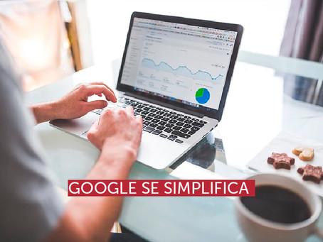 Google se simplifica