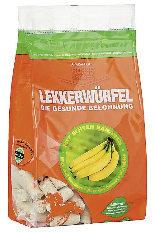 LEKKERWÜRFEL Banane