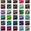 Thumbnail: Seil Farbenrad - Set - bunt