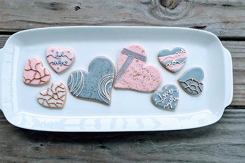 Valentine's Cookies - 1 doz assorted