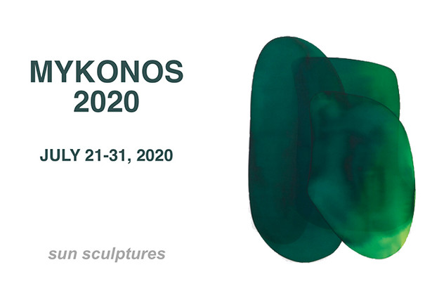Mirko Mayer Gallery Mykonos                                                                                         sun sculptures