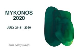 Mirko Mayer Gallery Mykonos                                                                                         sun sculptures