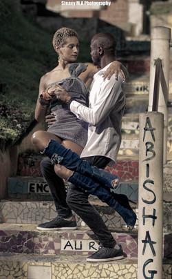 Stylish dancers