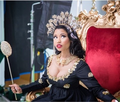 "Megamix album""Queen"" de Nicki Minaj"