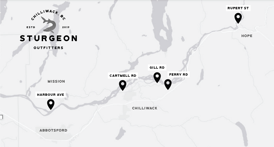 Sturgeon Outfitters Launch Map.png