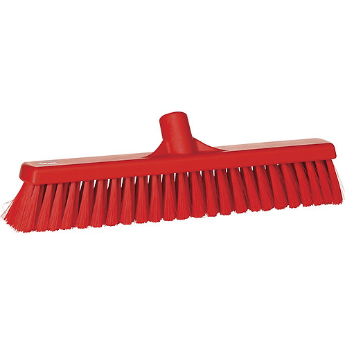 "Vikan 2""x16"" Red Broom - Medium Bristled"