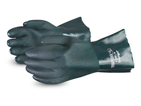 "Chemstop™ Premium 12"" Green PVC Glove"