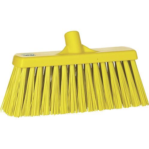 Vikan Yellow Broom - Stiff Bristled