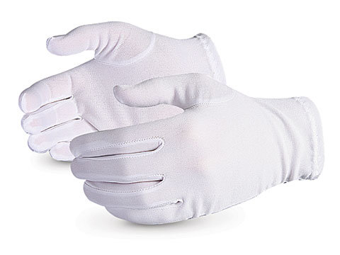 Parade Forchette, Slip-on Style Lint-free Nylon Gloves