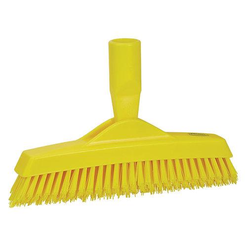 Vikan Yellow Grout Brush